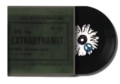 Thurston Moore - Detonation bw/ Germs Burn